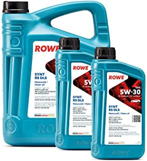 7 (5L+2L) Liter ROWE HIGHTEC SYNT RS DLS SAE 5W 30 Motoröl Made in Germany