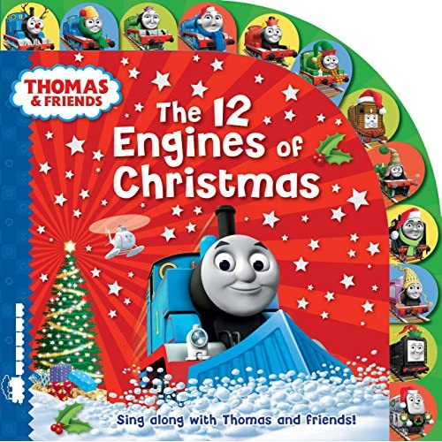 Uk, E: Thomas & Friends: The 12 Engines of Christmas