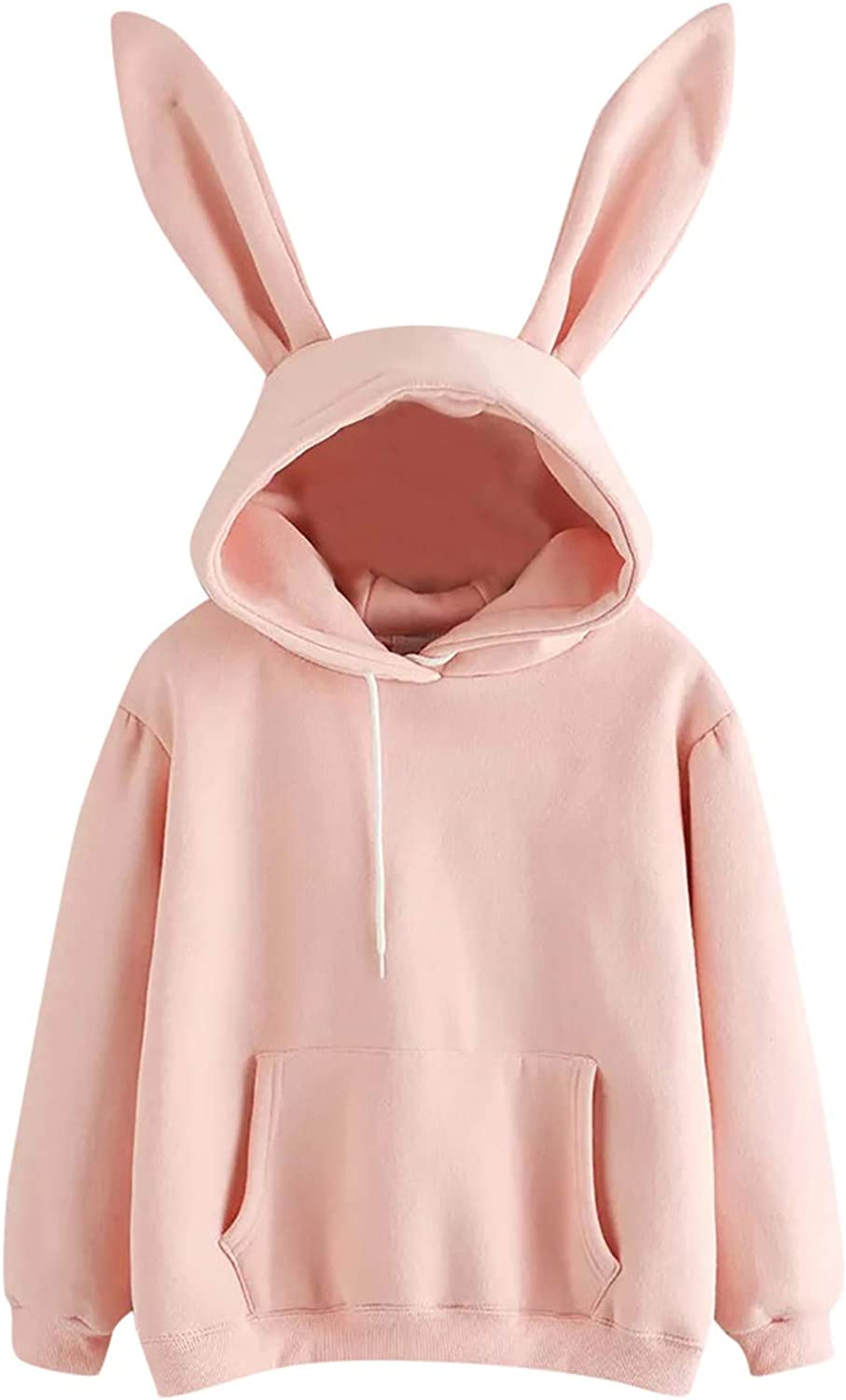 Bosanter Hoodies for Women Pullover Sweatshirts Ear Rabbit Safety and trust Cute Popular brand in the world
