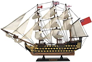Handcrafted Nautical Decor HMS Victory Wooden Tall Model Ship 24