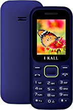 I KALL K31 Without Camera Premium Mobile (1.8 Inch, Dual Sim) (Blue)