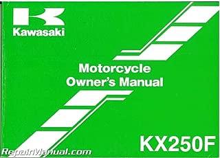 Best kawasaki kx250f 2008 manual Reviews