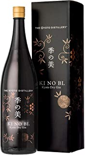 [ギフト] 季の美 (きのび) 京都ドライジン 箱付き 一升瓶 45度 1800ml