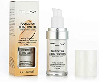 30ml Color Changing Foundation Liquid Base Makeup Change To Your Skin Tone By Just Blending Concealer