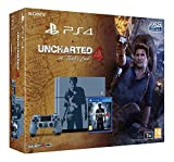 Console PlayStation 4 1 To + Uncharted 4 - A Thief's End - édition limitée