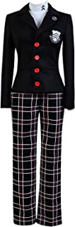 Ya-cos Persona 5 Protagonist Jacket Coat Top Cosplay Costume Attire Outfit Suit Uniform