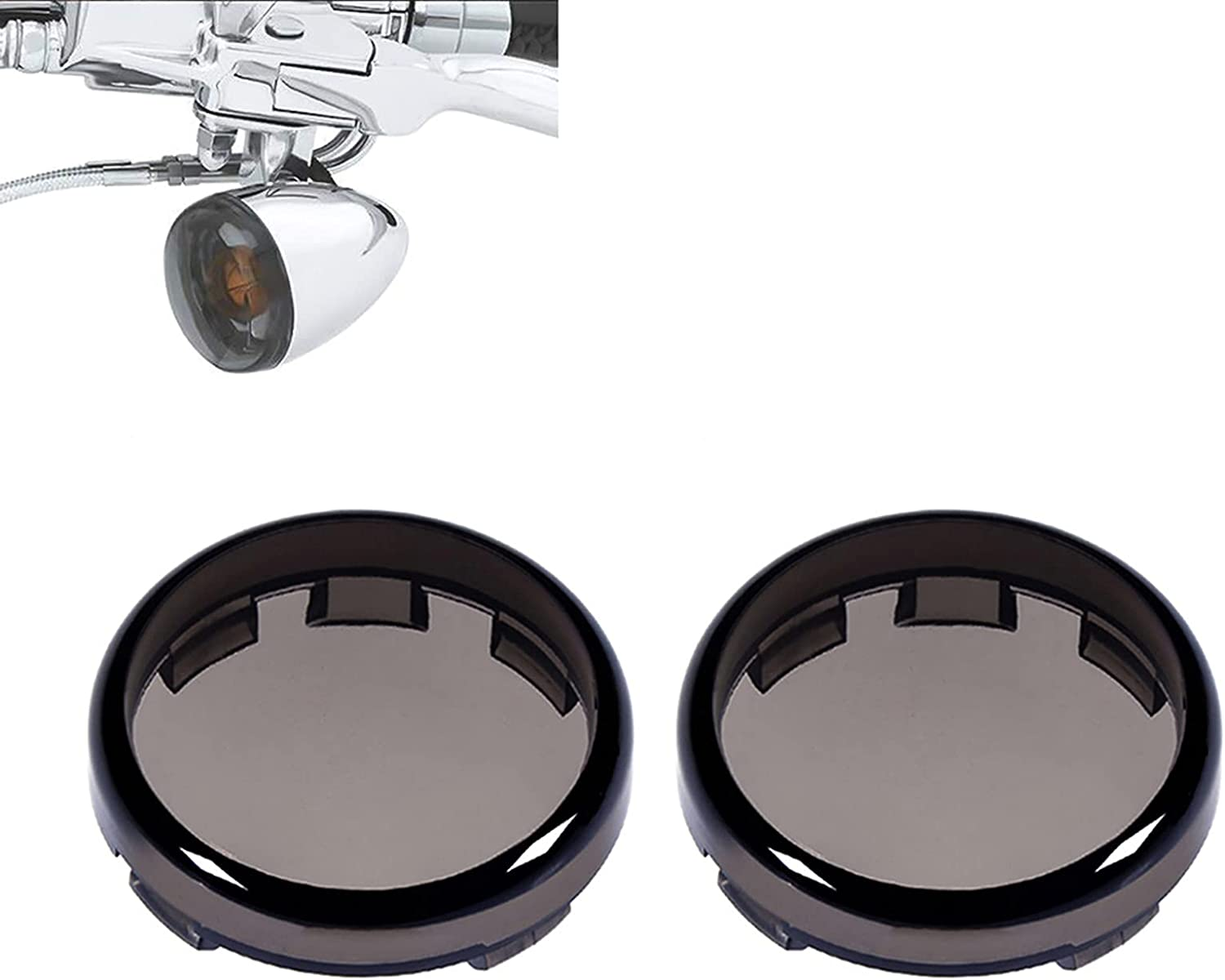 """ClipsOne 2"""" Smoke Turn 5 ☆ very popular Signal Styl Super sale period limited Covers Light Lens Bullet"""