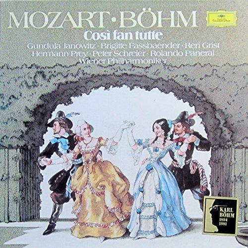 Mozart: Cosi fan tutte (Gesamtaufnahme, italienisch: Salzburger Festspiele 1974) [Vinyl Schallplatte] [3 LP Box-Set]