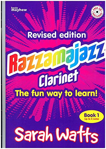 Kevin Mayhew RAZZAMAJAZZ CLARINET BOOK 1 + CD Jazz&Blues Noten Klarinette