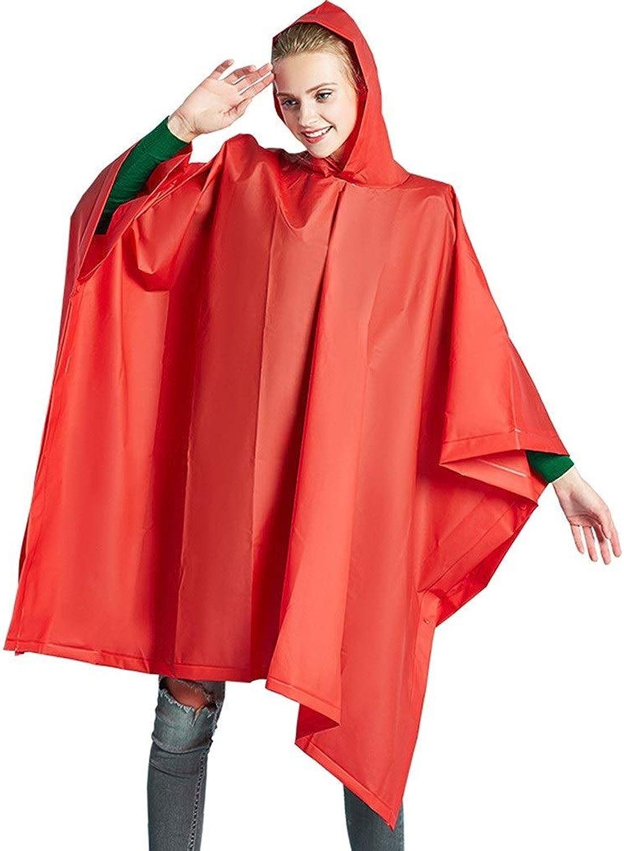 QIYUEYU Raincoat, Can Be Used for Picnic Mats, Men and Women, Hiking Backpacks, Raincoats, Outdoor Hiking Raincoats (color   Red)