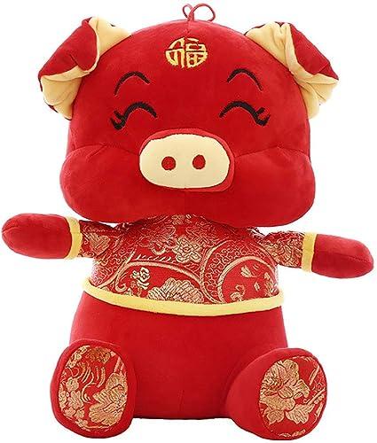 elige tu favorito GJC GJC GJC Almohada año del Cerdo Mascota muñeca Felpa Juguete Abajo algodón Acolchado Suave hogar sofá decoración para Enviar Amigos Regalo tamaño King,30CM  Web oficial