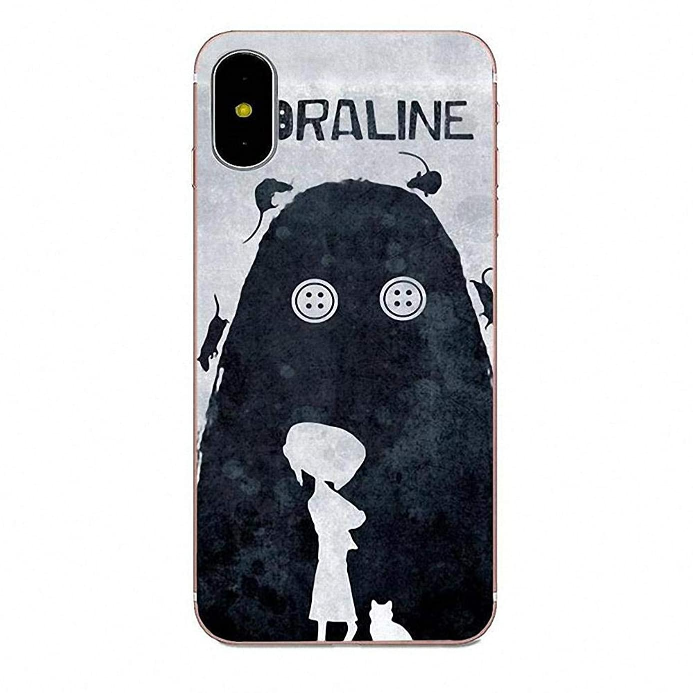 Inspired by Coraline Phone Case Compatible With Iphone 7 XR 6s Plus 6 X 8 9 Cases XS Max Clear Iphones Cases High Quality TPU Silicone - Non-Toxic?- Raincoat Merch - Ket 3T Sheets - 33012073449