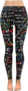 InterestPrint Custom Math Linear Education Stretchy Capri Leggings Pants for Yoga Running Gym(2XS-5XL)