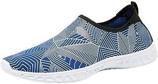 COMVIP Men Women Summer Water Sports Quick Dry Beach Barefoot Shoes