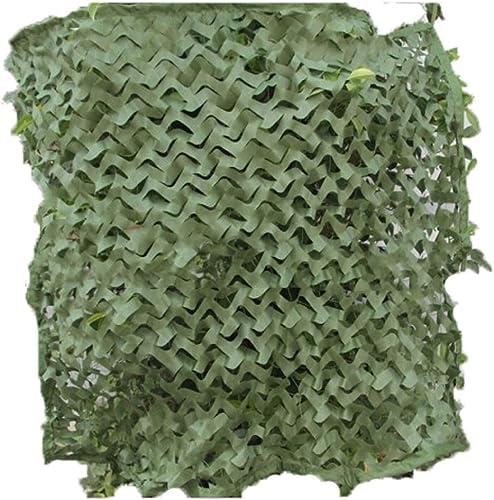GRPBZ Filet de Camouflage Vert Pur, Filet d'isolation Maille Oxford Chasse à la Toile tir caché Camping Camping caché Voiture décoration Tente Tente furtif Enfants poteaux Verts (Taille   3x4m)