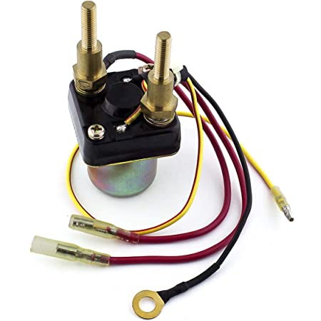On solenoid do go where a the wires starter What wires