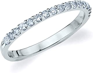 Legacy 1/3 CT Lab Grown Diamond Wedding Ring in 10K Gold, Sparkling in F-G Color and VS Clarity
