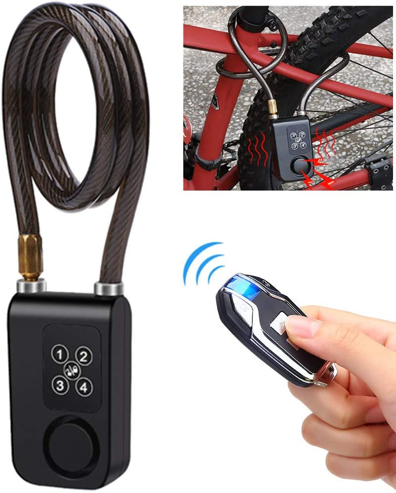 Bicycle Bike Anti-Theft Key Lock Wire Cable Locker With Keys Cable Chain Lock GA