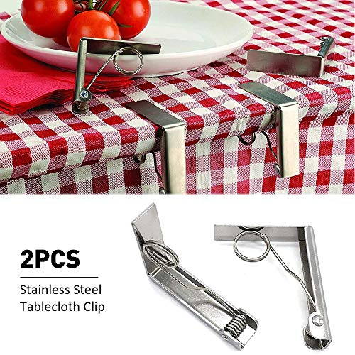 favourall - Tischdeckenklammern in -, Größe 2 Stück