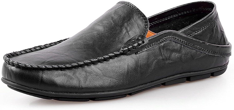 Einstellbar Gummisohle Weiche Herrenmode Schuhe, CHENDX
