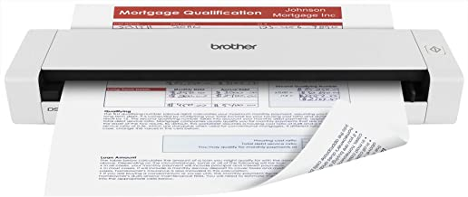 $110 » Brother Mobile Color Page Scanner, DS-720D, Fast Scanning, Compact and Lightweight, Duplex Scanning (Renewed)