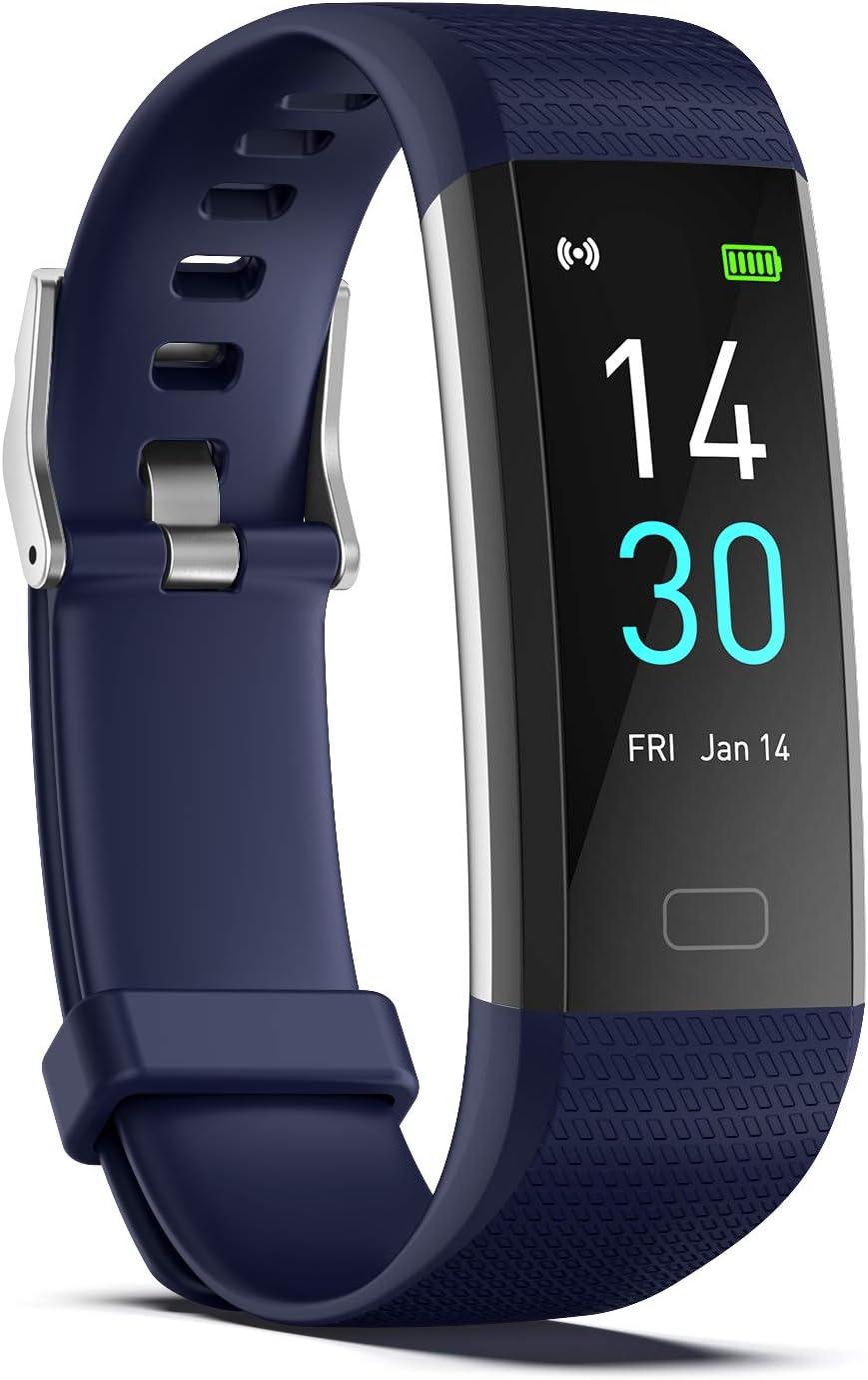 Orologio Tracker con Cardiofrequenzimetro//Selfie Remoto Fitness Tracker Fascia Fitness Intelligente Impermeabile con Contacalorie+Pedometro ENGERWALL 2021 Nuovo Smartwatch Alunno Uomo Donna