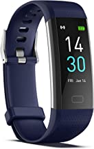 ENGERWALL Fitness Tracker with Step Counter /Calories /Stopwatch,Activity Tracker with Heart Rate Monitor,IP68,Health Tracker with Sleep Tracker/Blood Oxygen,Smartwatch,Pedometer Watch for Women Men