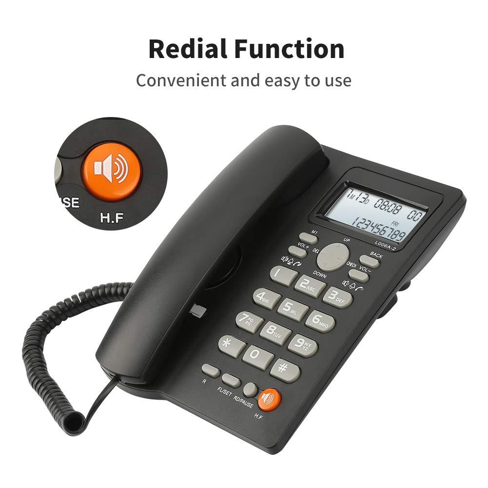 Desktop Telephone Landline Adjustable Brightness