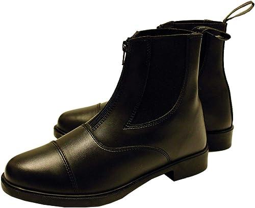 Horseware kurze Zip Stiefel Leder Herren