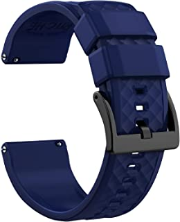 Silicone Watch Bands 18mm 20mm 22mm Quick Release Rubber Watch Bands for Men Women