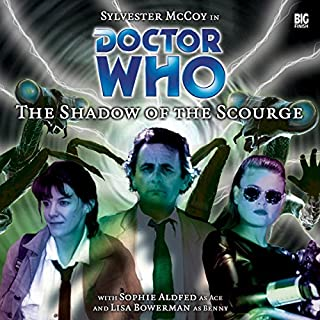 Doctor Who - The Shadow of the Scourge audiobook cover art