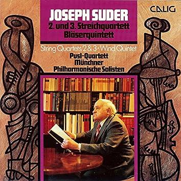 Suder: Streichquartette und Bläserquintett