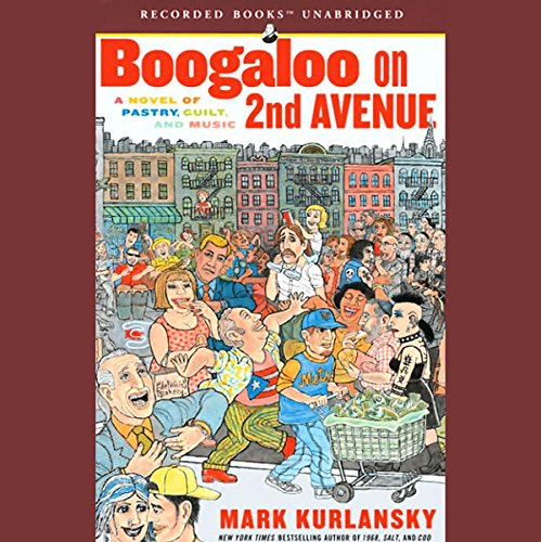Boogaloo on 2nd Avenue audiobook cover art