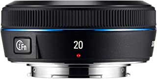 Samsung 20mm NX Pancake lens for NX Series Cameras
