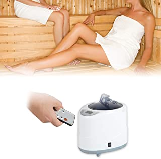 PaNt Vapeur pour Saunas Steamer Pot 2L Fumigation Machine Sauna Machine avec Télécommande, Vapeur De Sauna Personnel Avec ...
