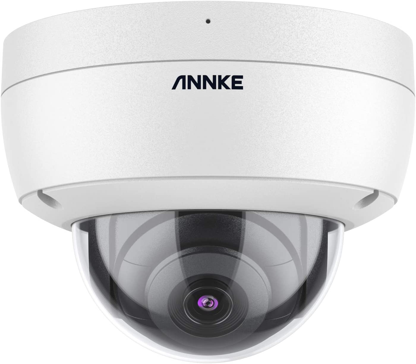 ANNKE C500 5MP PoE Security IP Dome Camera, Super HD H.265+ Night Vision, Remote Access Built-in Mic, Support 256 GB TF Card, IP67 Outdoor Weatherproof & IK10 Vandal-Proof