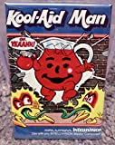 Kool Aid Man Intellivision Vintage Game Box 2 x 3 Refrigerator Locker MAGNET