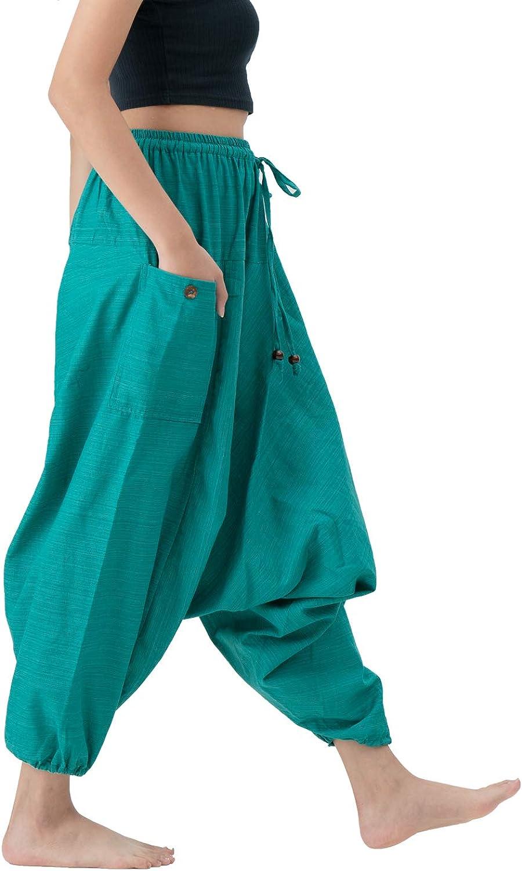 B BANGKOK PANTS Harem Pants for Women Boho Clothing Cotton