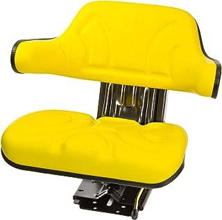 DEMA tractorstoel geel met armleuning