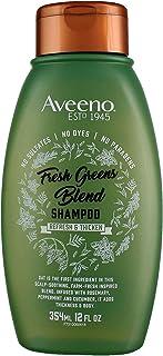 Aveeno Shampoo Fresh Greens Blend 12 Ounce (Thicken) (354ml) (2 Pack)
