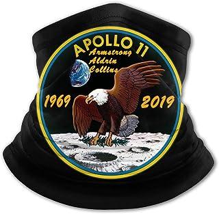 Apollo 11 - Pasamontañas para el cuello con protección UV para niños, resistente al viento, multifunción, para niños y niñas