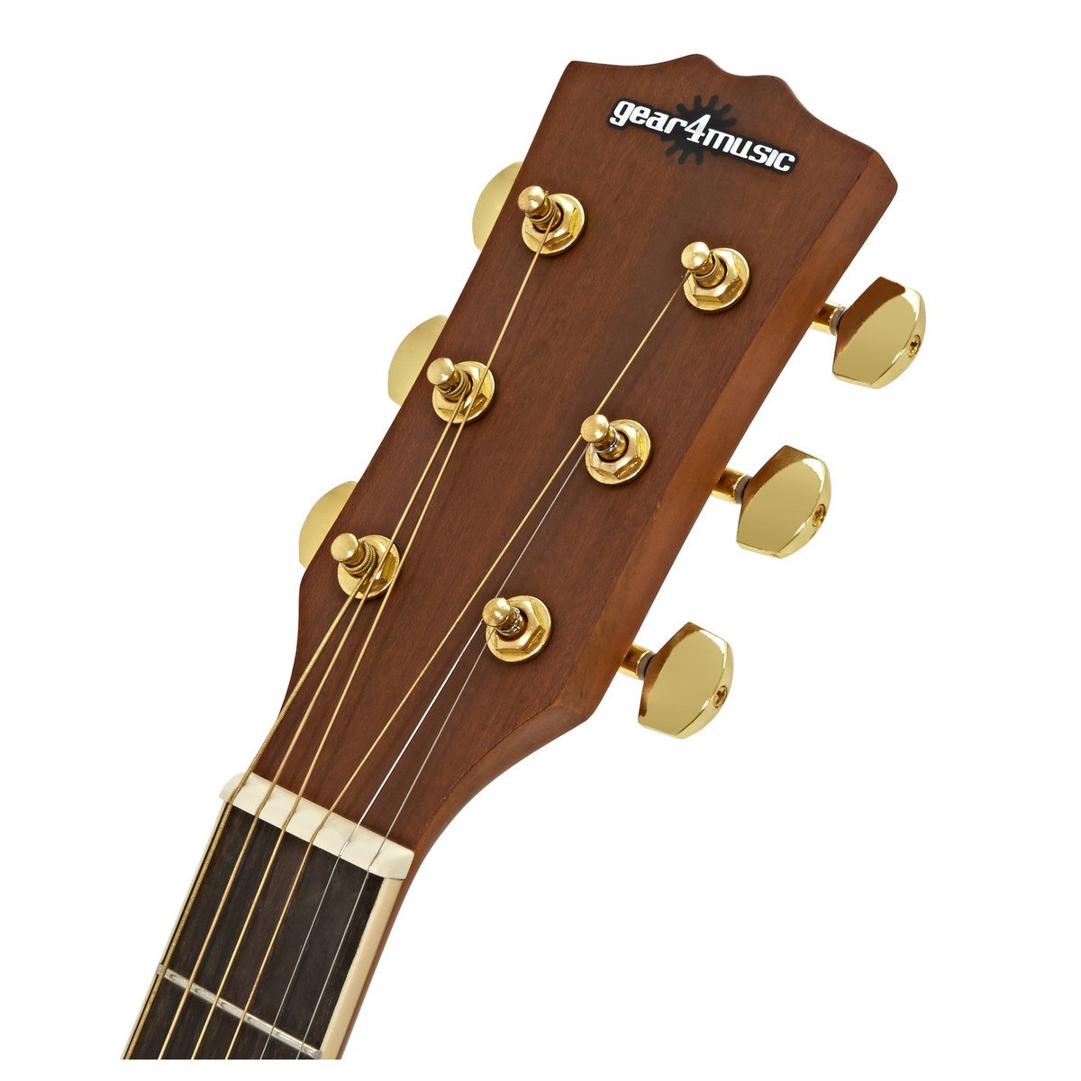 Guitarra Electroacustica Roundback de Gear4music: Amazon.es ...