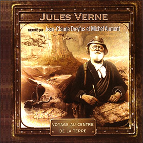 Voyage au centre de la terre audiobook cover art