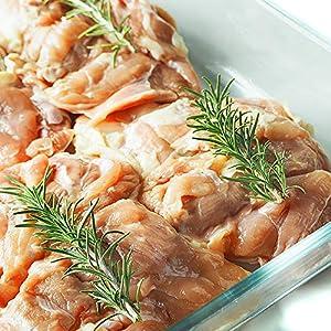 ミートガイ 【国産銘柄鶏】錦爽鶏の骨なしモモ肉 (きんそうどり) 1kg KINSOU-DORI Boneless Chicken Thigh