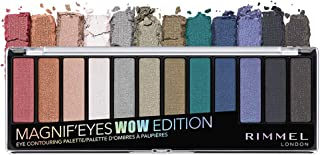 Rimmel Magnif'eyes Eyeshadow Palette, Wow, 0.5 Ounce, Pack of 1