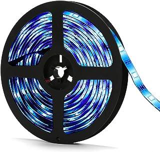 Ruban LED Wifi 5M, SOLMORE Bande LED 5M WIFI Ruban Intelligent 150 LEDs, Sync avec Musique, 16 Millions de Couleurs, Étanc...
