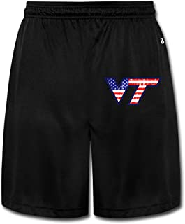 Men's Particular Virginia VT Tech Short Pants Black