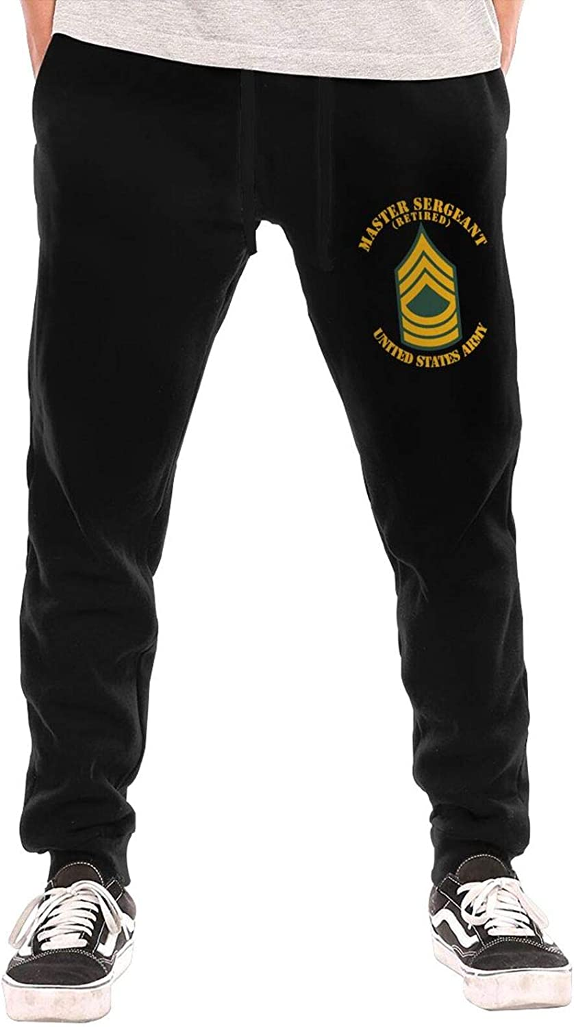 National products Msg Master Sergeant Blue Retired Men Trous Pants Long Cotton Many popular brands All