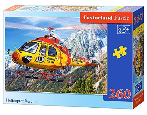 Castorland B-27248-1 - Puzzle Rettungshubschrauber 260 Teile