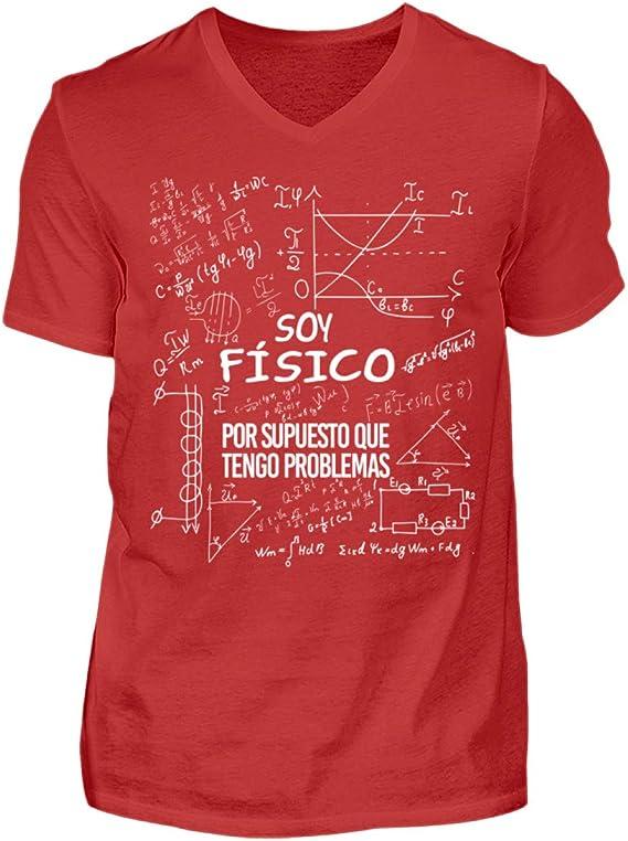 Soy Físico - Tengo Problemas - Camisa de Cuello en V para ...